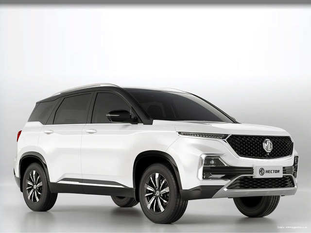 Mg Hector Now Available With Two Dual Tone Exterior Colours Candy White And Glaze Red Dual Tone Delight The Economic Times