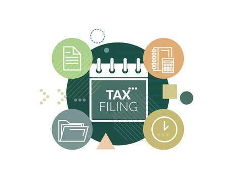 4 tasks for tax filing preparation