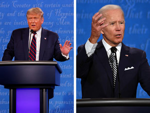 First Presidential Debate An Acrid Tone From The Opening Minute The Economic Times