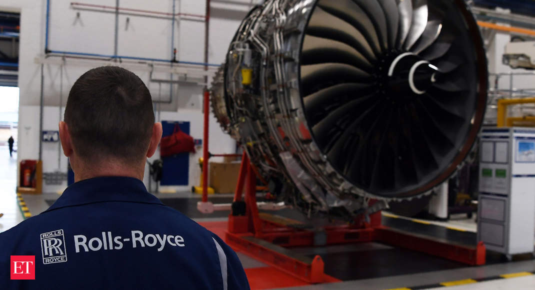 Virus-hit Rolls-Royce launches £5.0-billion belief to raise funds