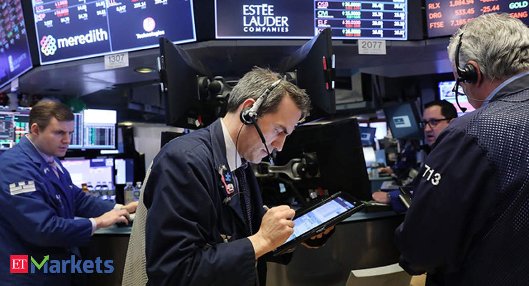 US futures sink as Trump tests positive for Covid-19 - Economic Times