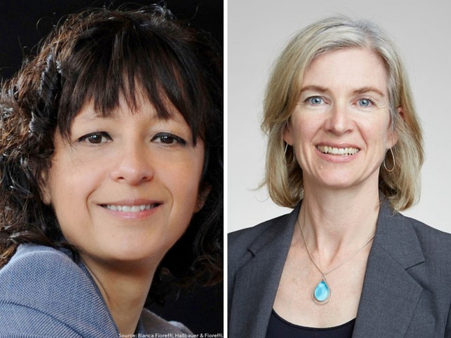 Emmanuelle Charpentier, Jennifer Doudna win Nobel Prize for chemistry for genome editing
