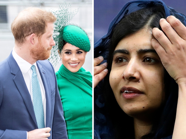 we were there for his first steps his first everything prince harry meghan speak to malala about raising archie the economic times prince harry meghan speak to malala