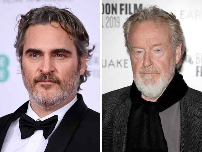 Gladiator's Ridley Scott and Joaquin Phoenix to re-team for Napoleon epic