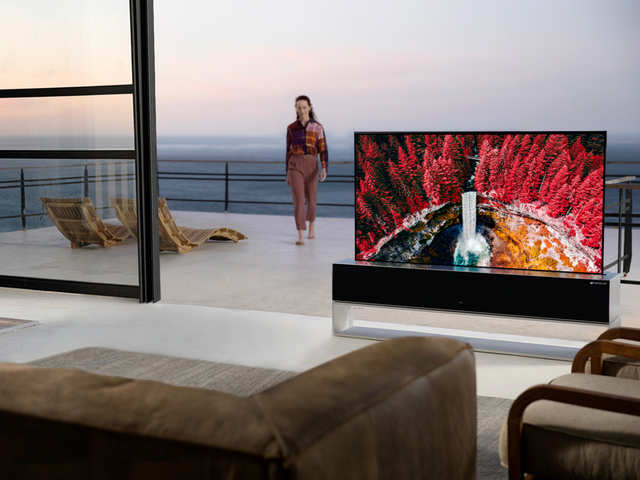 Making new strides in tech: LG launches world's first rollable TV at Rs 64 lakh