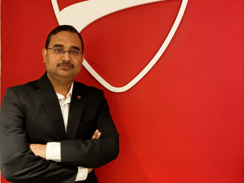 Ducati India MD  says not driving in 'crazy traffic' did wonders for his mental health