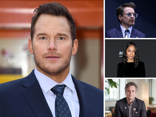 'Avengers' actors assemble to defend Chris Pratt on Twitter