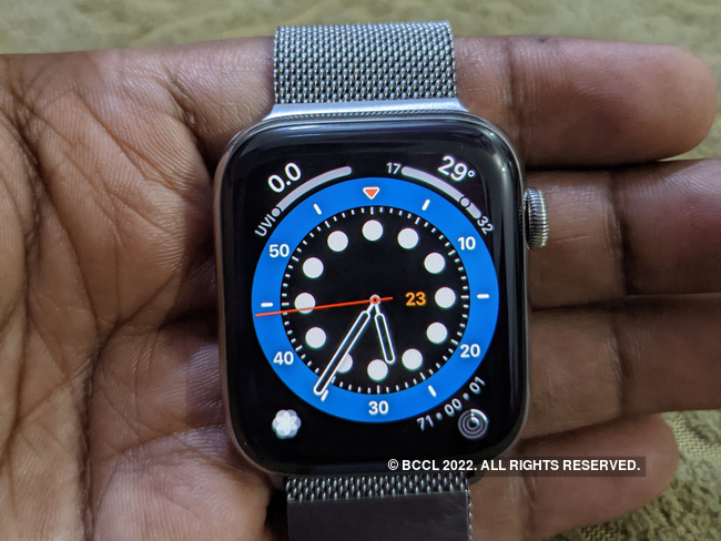Watch Series 6 Review Apple Watch Series 6 Review Best Health Focused Smartwatch The Economic Times