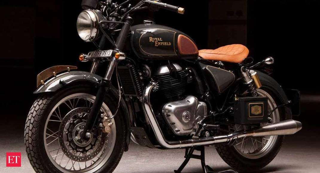 The Regale Is A Royal Enfield Interceptor 650 That Has Been Turned Into A Vintage Bobber Straight From The Horse S Mouth The Economic Times