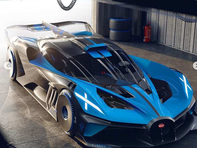The new Bugatti Bolide could challenge the world speed record just set by the SSC Tuatara
