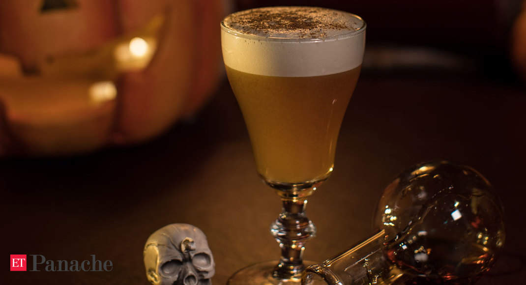 Missing the extravagant Halloween parties? These spooky cocktails will more than make up for it
