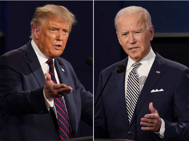 Donald Trump vs Joe Biden: How & where it matters for India - Donald Trump  vs Joe Biden | The Economic Times