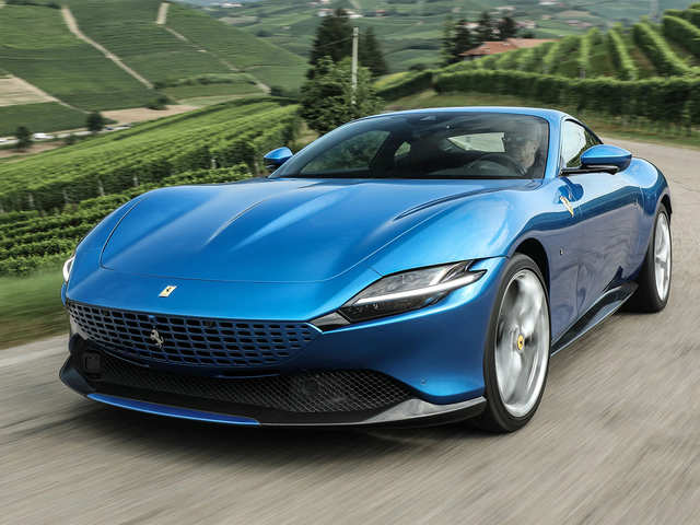 2021 Roma with 611 HP V8 turbo engine & 199 mph top speed might be the perfect Ferrari, costs $218,670