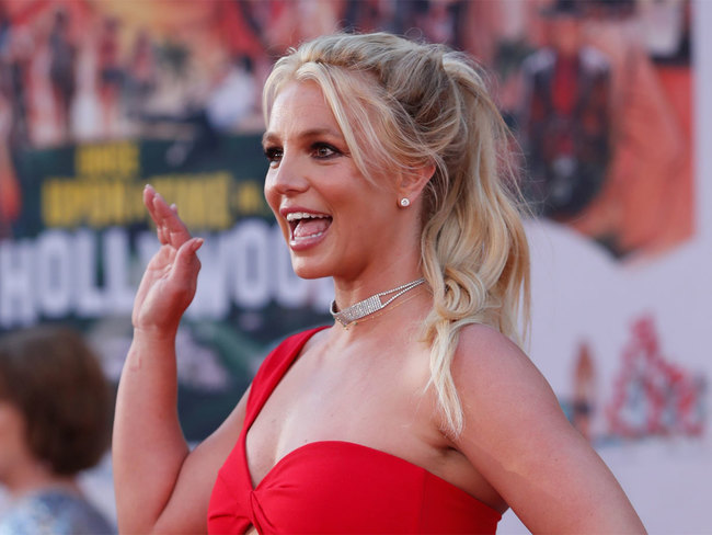 Britney Spears is happier than ever