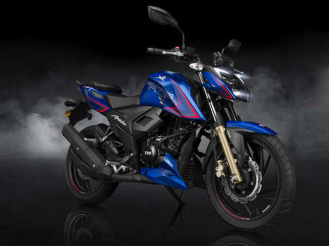 New version of TVS Apache RTR 200 4V comes to India at Rs 1.31 lakh