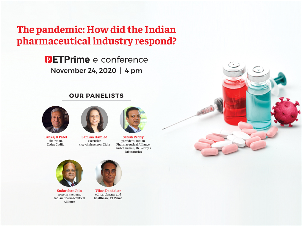 How did the Indian pharma industry respond to the pandemic? Find out at the ET Prime e-conference.