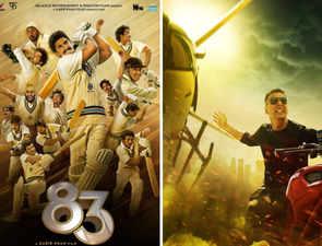 'Sooryavanshi', ''83' to release in cinemas next year