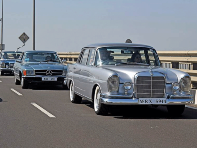A Rally of Resilience: Mercedes-Benz Classic car rally to be held on Dec 13 in Mumbai