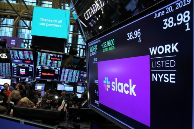 Salesforce reportedly in talks to buy Slack