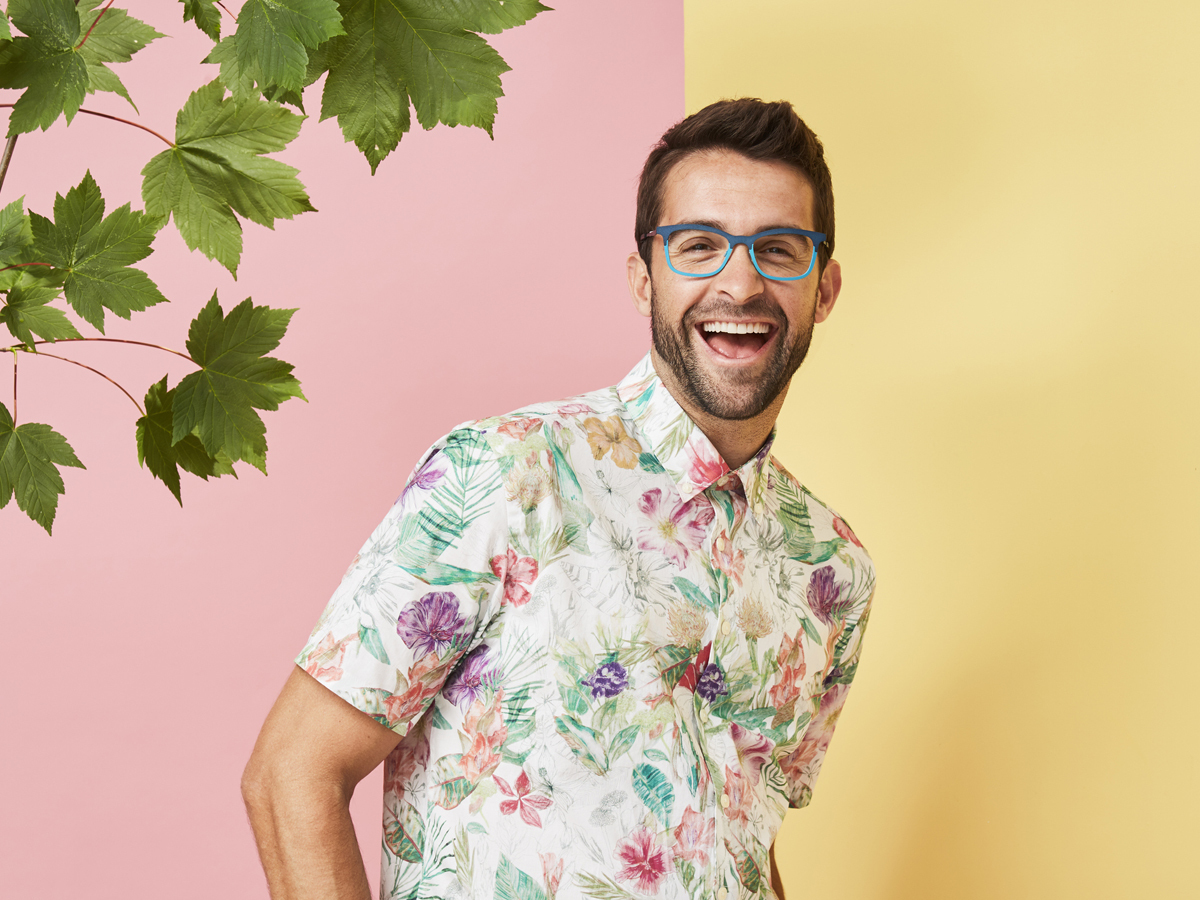 Floral Mens Shirt