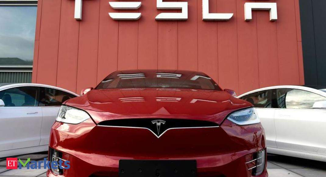 Tesla share Price: No model for sale here, but India's ...