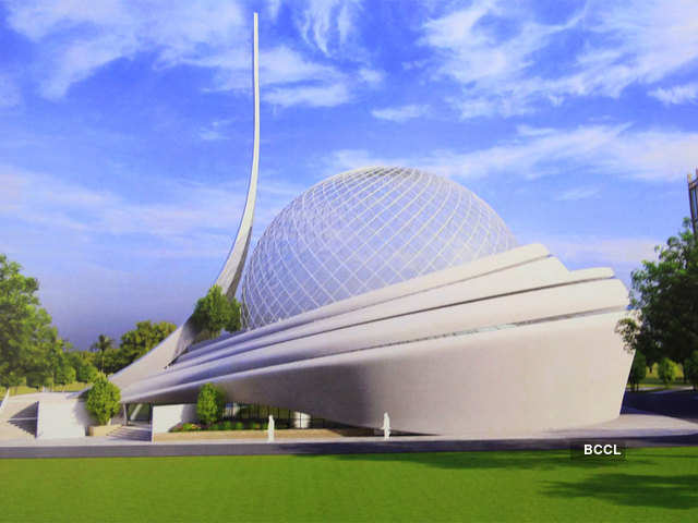 Here S How Mosque In Ayodhya Will Look Like Trust Unveils Ayodhya Mosque Design The Economic Times