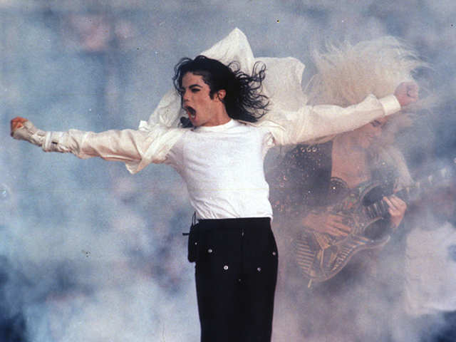 Michael Jackson moonwalks back to the centrestage