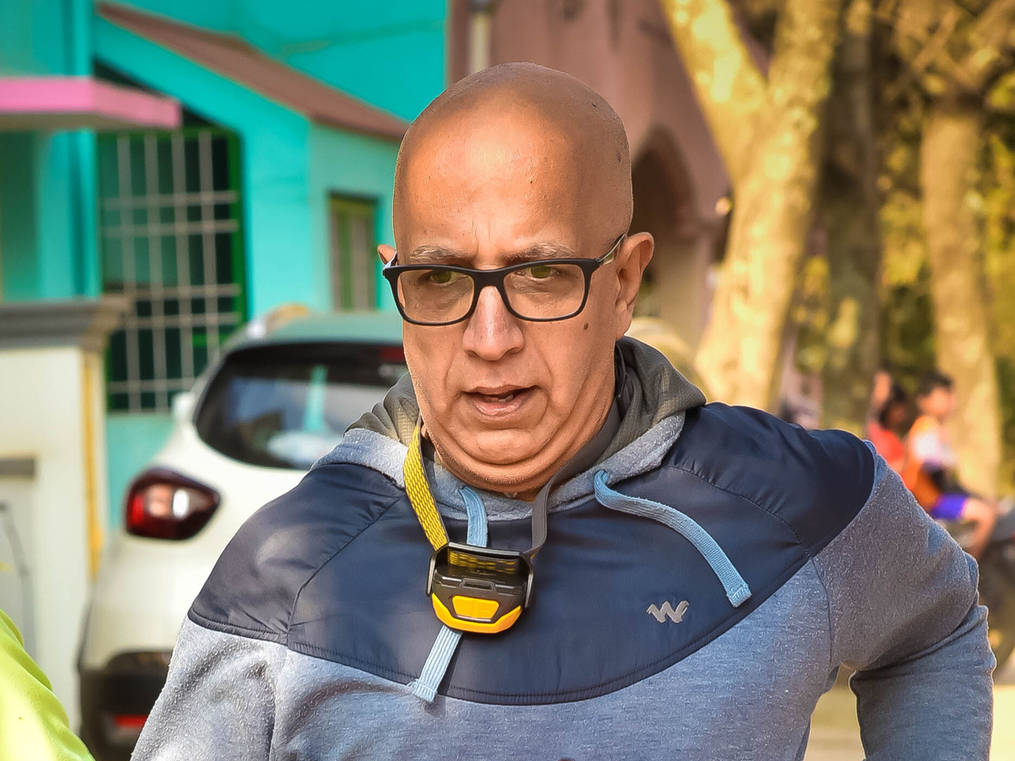 20-km run per week in lockdown has kept Titan MD in shape