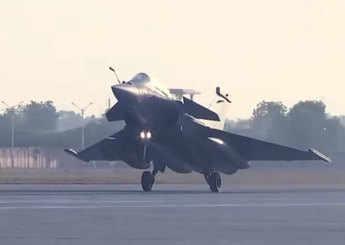 Exercise Desert Knight-2021: French Rafales land at Jodhpur base