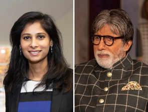After 'KBC' moment, Gita Gopinath says she is a 'huge fan of Big B'