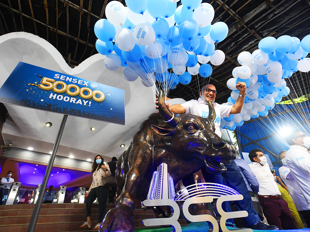 Sensex at 50,000: dizzying heights aren't for the faint of heart. But patience will be rewarded.