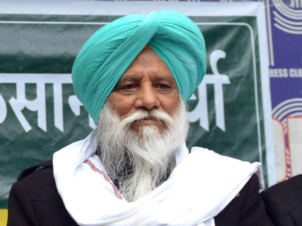 Farmers Protest: Balbir Singh Rajewal said that governments were blaming farmers for spreading coronavirus but governments were failing.