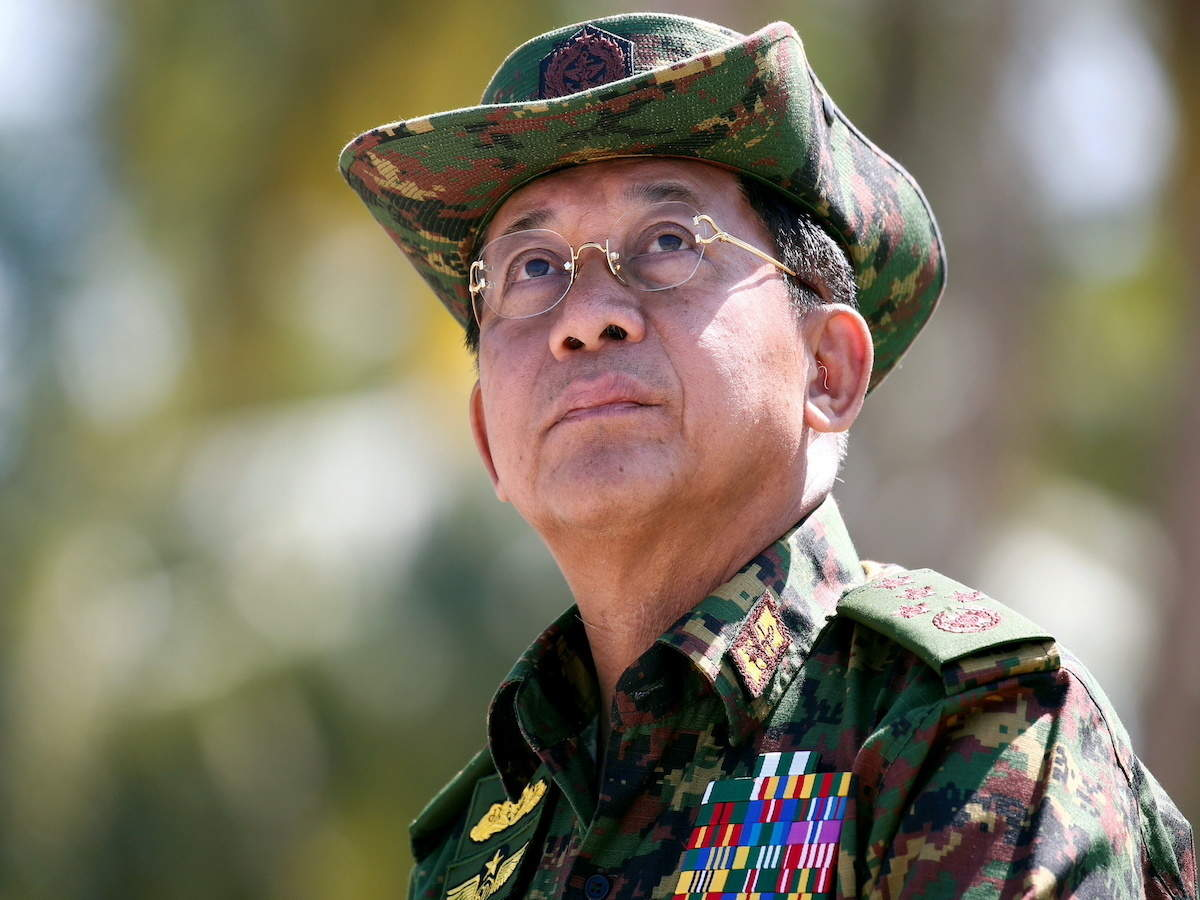 Min Aung Hlaing: Latest News & Videos, Photos about Min Aung Hlaing | The  Economic Times