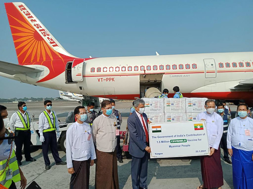 New Delhi's twin-track approach of dealing with Myanmar