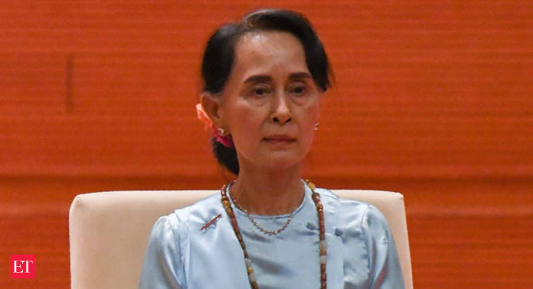 Aung San Suu Kyi: Myanmar's Suu Kyi charged, can be held until February 15