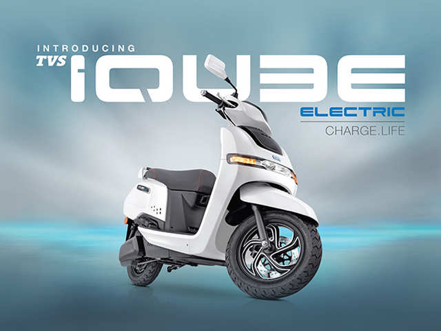 TVS Motor's e-scooter iQube Electric is here, priced at Rs 1.08 lakh
