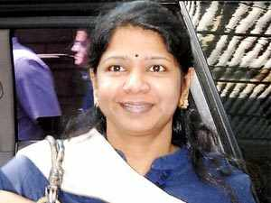 Kanimozhi, daughter of M Karunanidhi