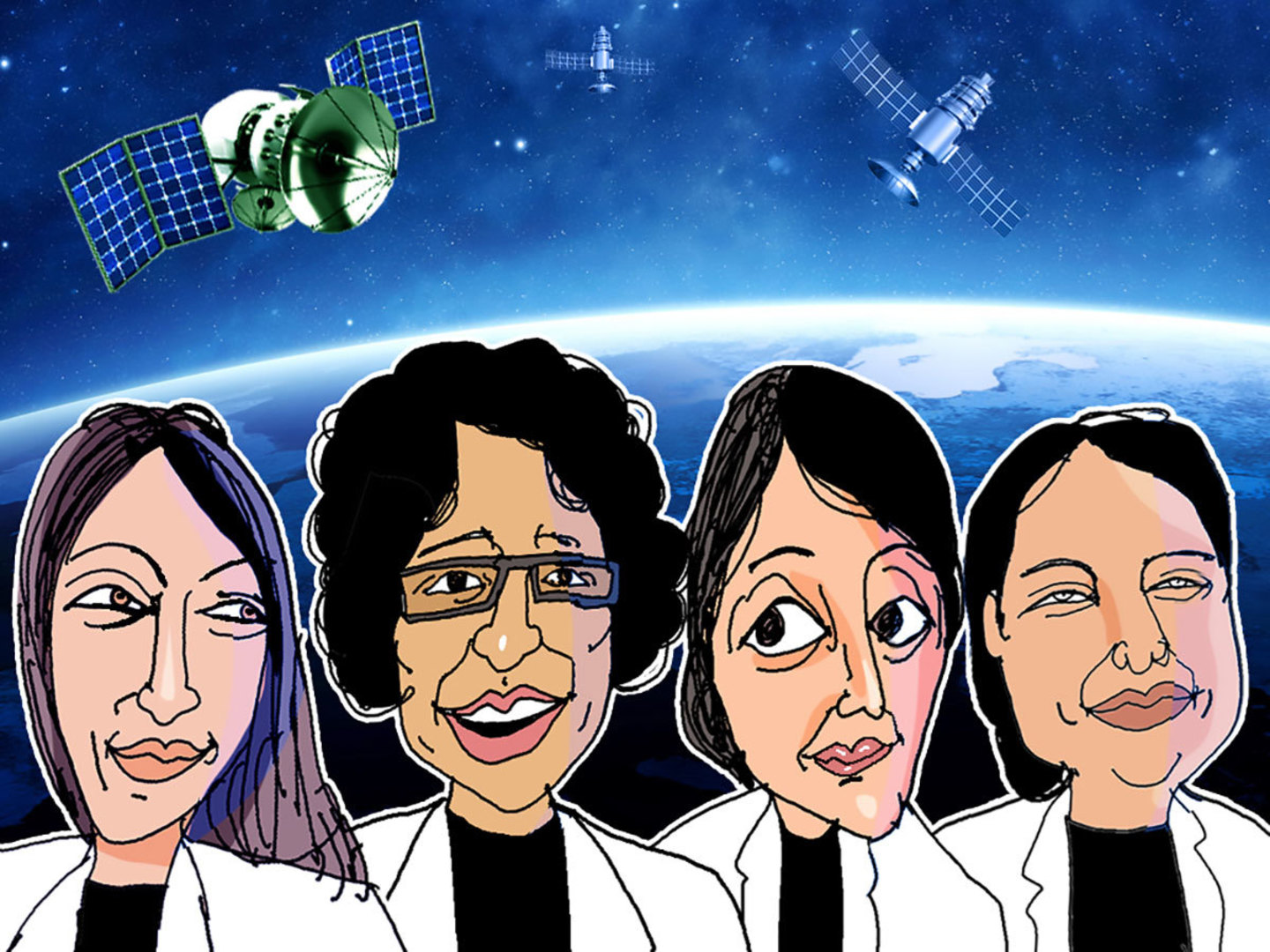 Reaching for the stars: Meet the women leading India's space renaissance