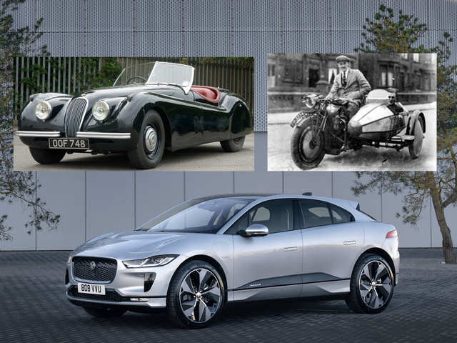 A look at Jaguar's journey from manufacturing sidecars in 1922 to going all-electric by 2025