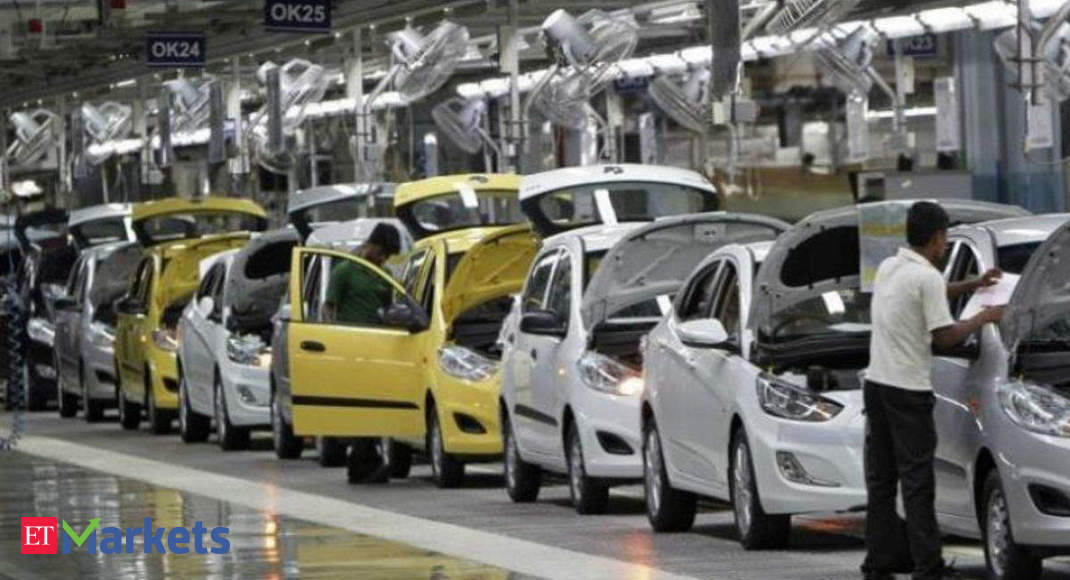 Stock market update: Nifty Auto index gains 1%; Tata Motors jumps nearly 6%