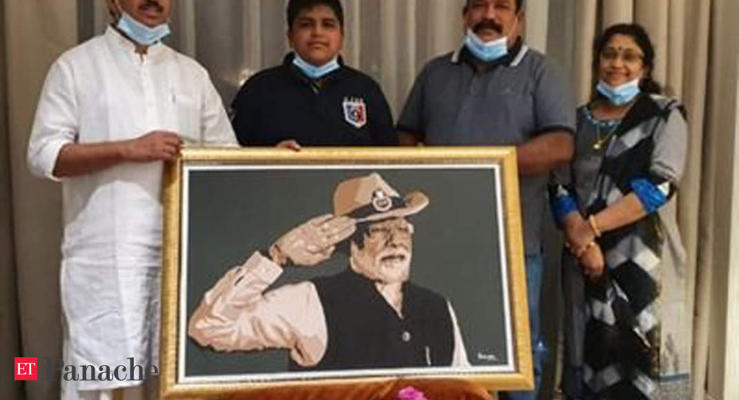 Teen gets letter from PM Modi for special portrait