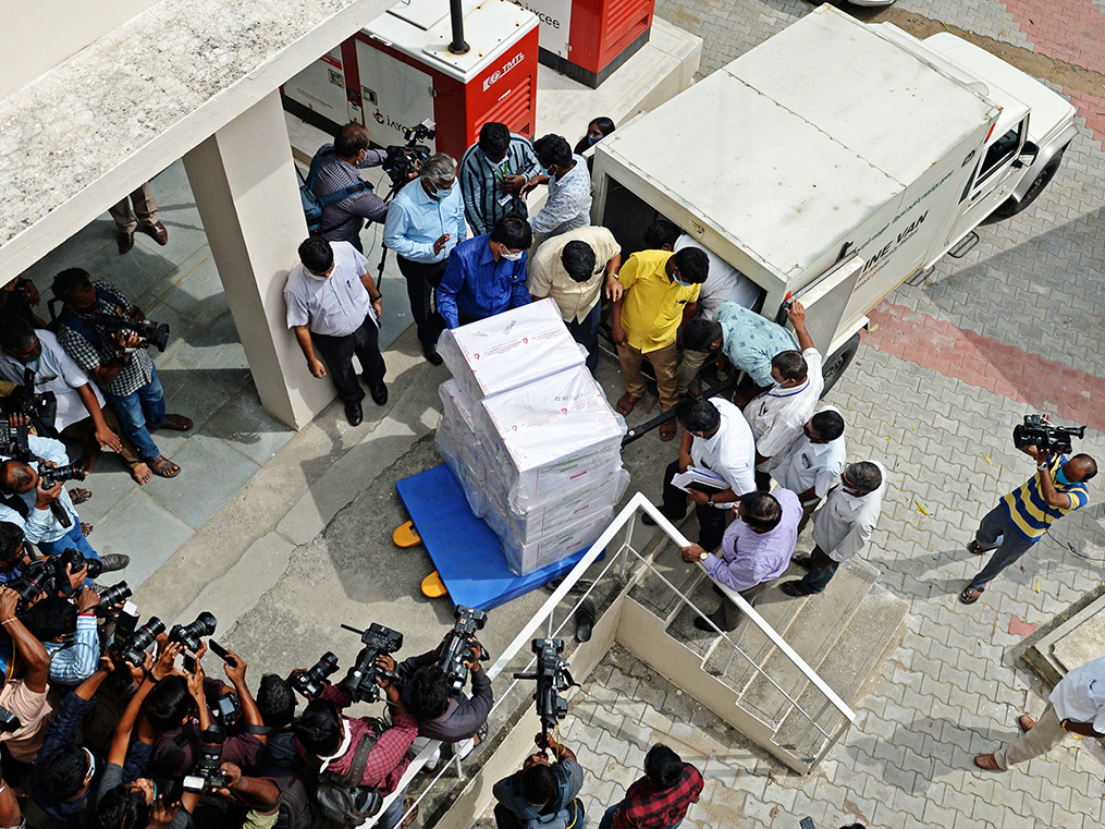 Pharma cold-chain business is fraught with challenges. And vaccines are just another product.
