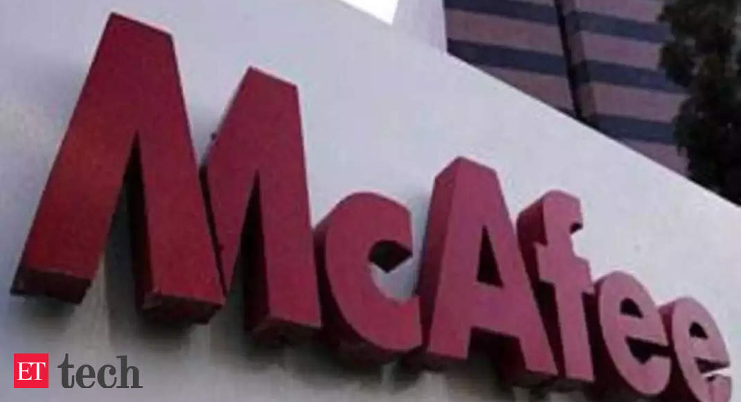 McAfee to sell its enterprise business for $4 billion - Economic Times
