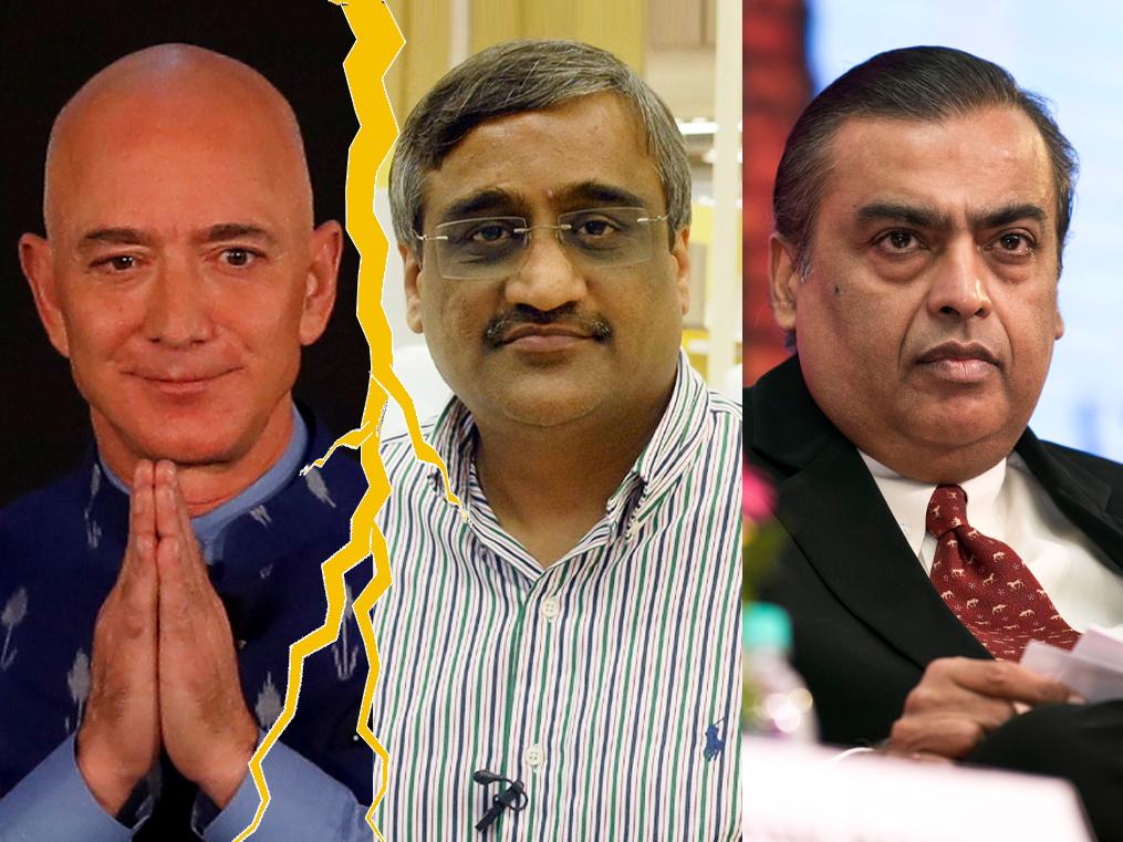 Will Bezos's India plan get caught in its own web? The Amazon vs. Future outcome will provide clues.