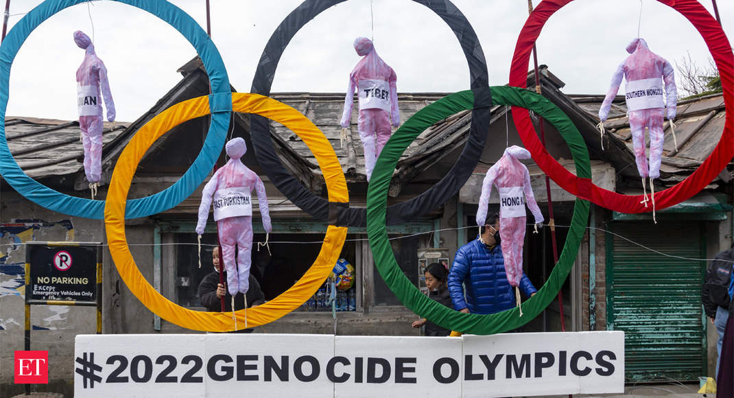 What drives possible boycott of Beijing Olympics - Economic Times