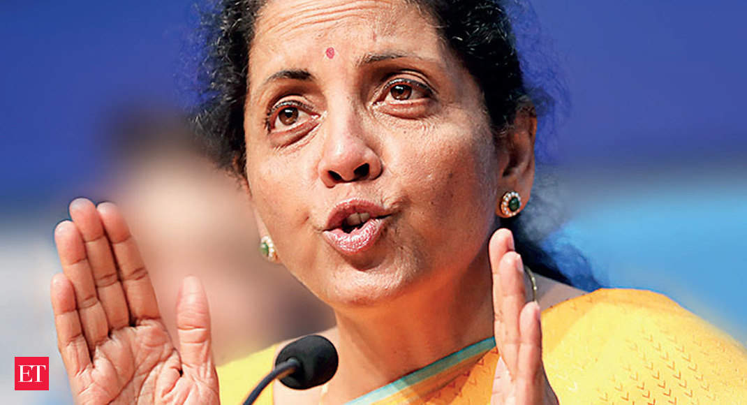 Nirmala Sitharaman discusses global economic outlook with US Treasury Secy - Economic Times