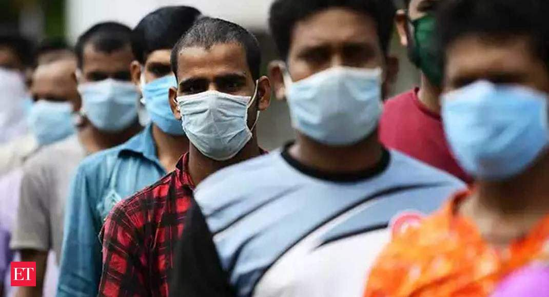 8 states witness steep rise in COVID-19 cases, account for 81.42% of single-day infections - Economic Times