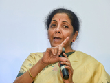 'Competition' between 2 Fronts over scams, says Sitharaman