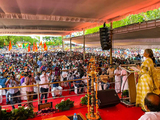Kerala witnesses massive roadshows marking finale of open campaign for assembly polls