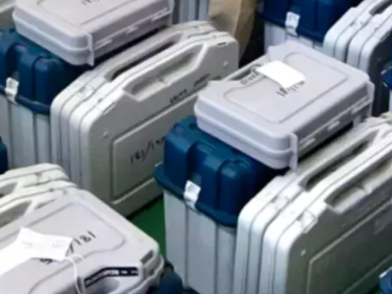 Three held for attacking truck carrying reserve EVMs in Assam's 2nd phase of polling